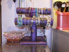 jak vyrobit stojan na šperky - Hledat Googlem