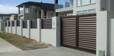Image result for aluminium sliding gates nz
