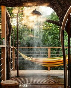 """6,130 Likes, 78 Comments - Cabin Folk (@cabinfolk) on Instagram: """"Outdoor shower at a tree house? Yes please!  Find out more about this incredible place over at…"""""""