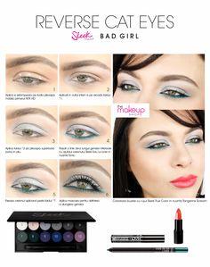 Paleta farduri Sleek Bad Girl  doar pe http://www.makeupshop.ro