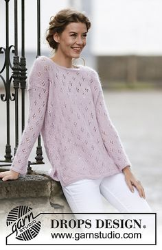 Ravelry: 160-12 Sweet Bliss pattern by DROPS design