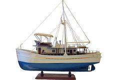 Dickie Walker Model Boat on OneKingsLane.com