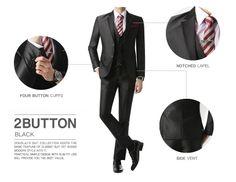 2BT Black - Suits - MEN Doublju