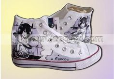 Stylish High Top Hand Print Custom Canvas Universal Footwear Cus, New Arrival Hand Drawing Shoes, Cosplay Hand Painted Canvas Shoes, Custom Canvas, Converse Chuck Taylor, High Tops, High Top Sneakers, How To Draw Hands, Footwear, Cosplay, Drawing