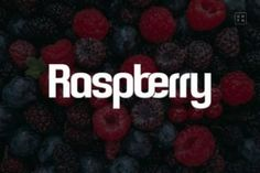 Raspberry is a casual sans serif font. Simple and easy to use, this font will be very beautiful if you...