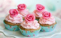 11905 rose cupcakes 1680x1050 photography wallpaper Rose cupcakes wallpaper  Photography wallpapers