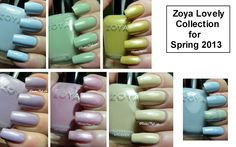 Zoya Lovely Collection for Spring 2013 | Pointless Cafe