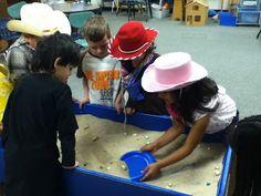 Mrs. Cortez's Class: Kindergarten Rodeo  pan for gold