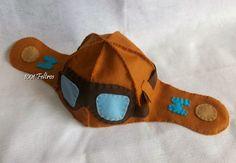 molde de chapéu de aviador - Pesquisa Google
