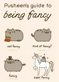 how to be fancy