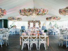 Un mariage glamour en 2016? Prenez note de nos idées décoration! Image: 16