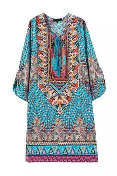 BOHO CHIC SUMMER DRESS BOHEMIAN STYLE HIPPIE FASHION - Hippie BLiss