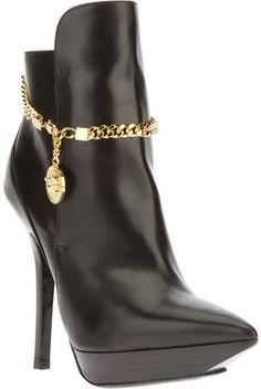 Versace ~ Platform Ankle Boot