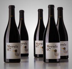 Merula 07 #wine by BaseNow #vino #packaging