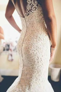 #love#lace#wedding#gown