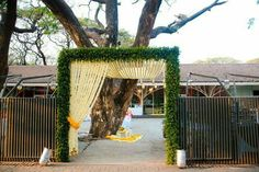 ideas for party decorations wedding entrance