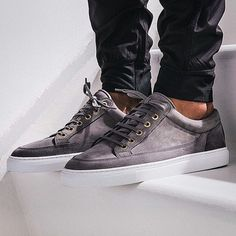 Whether you're on the search for a classic white sneaker or a comfortable pair of high top or slip on sneakers, we've got you covered with new arrivals from Buttero, Filling Pieces, ETQ Amsterdam and more. Grey Sneakers, Slip On Sneakers, Casual Sneakers, High Top Sneakers, Classic White, Shoe Brands, High Tops, Trainers, Menswear