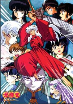Poster for the first Inuyasha movie