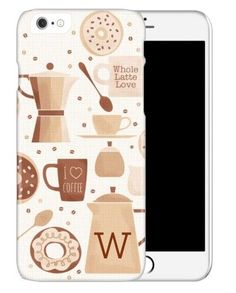 iPhone Cases: Coffee Break, Slim case, Glossy, iPhone 6, Brown