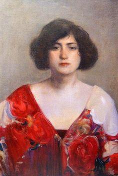 Ramón Casas. La Trini (hacia 1902).