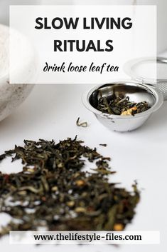 Slow living rituals - drink loose leaf tea - it's healthier and more eco-friendly // slow living / simple living / good habits / slow living ritual / self-care routine / eco-friendly / zero waste tips / loose leaf tea/ green living Slow Living, Mindful Living, Wellness Tips, Holistic Wellness, Herbs For Health, Good Excuses, Design Your Life, Healthy Lifestyle Tips, Good Habits