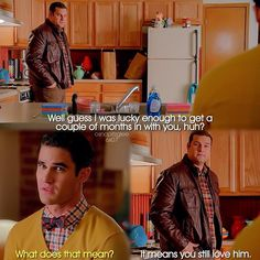 "#Glee 6x07 ""Transitioning"" - Dave and Blaine"
