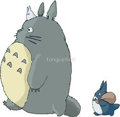 My Neighbour Totoro by tonguetied