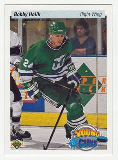 Bobby Holik RC # 534 - 1990-91 Upper Deck Hockey NHL Rookie