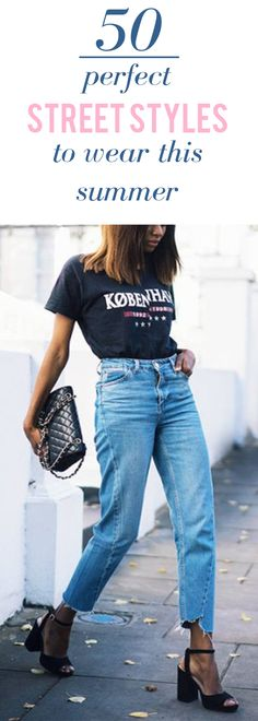 50 Perfect street styles to wear this summer