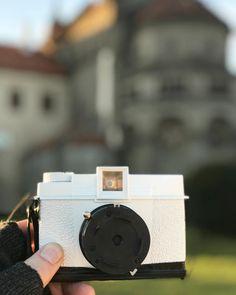 Making of some #pinhole photographs  with #dianaplus close #basilica in my hometown. Focení bez objektivu má něco do sebe  #unesco #trebic #analogphotography #nolens #f150