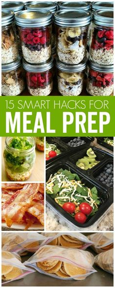 Meal Prep Hacks for Easy Lunch & Dinners that save time! Stress Free Mealtimes, Fuss Free Cooking and more using these easy Meal Prep Hacks. (meal ideas for dinner monthly menu) Lunch Meal Prep, Easy Meal Prep, Healthy Meal Prep, Healthy Cooking, Healthy Snacks, Healthy Eating, Cooking Recipes, Healthy Recipes, Make Ahead Meals