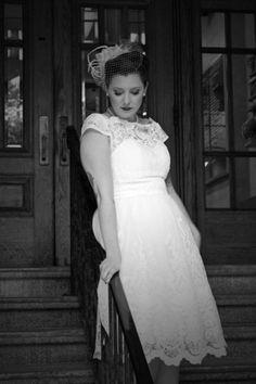 Exquisite Elegance Lace Dress in White | Mod Retro Vintage Dresses | ModCloth.com