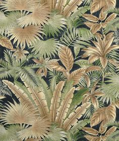 Tommy Bahama Outdoor Bahamian Breeze Coal Fabric - $10.8 | onlinefabricstore.net