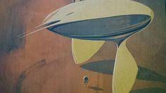 Jantri vessel (Syd Mead:Sentinel) Syd Mead, Surfboard, Characters, Ideas, Art, Art Background, Figurines, Kunst, Surfboards