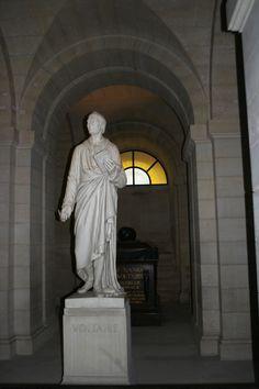 Rosseau's Grave at Pantheon