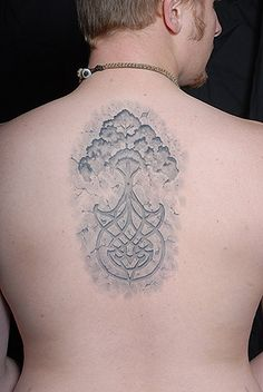 Celtic tree of life, carved in stone -by Shaun Carroll of Hot Rod Tattoo in Blacksburg, VA.  Won 2nd place Best Celtic at the Richmond Spring Tattoo Convention 2009.