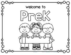 Back To School Coloring Page Kindergartenklub Com