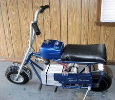 Electric mini bike. I want one...