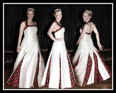Wedding dress with t