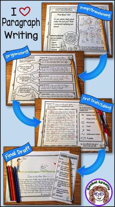 60 paragraph writing prompts for Opinion, Informative, and Narrative plus everything you need for Paragraph of the Week. Ready to Use!