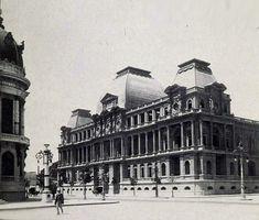 Escola Nacional de Belas Artes, atualmente Museu Nacional de Belas Artes do Brasil. 1909.