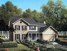 House Plan 87320 at FamilyHomePlans.com
