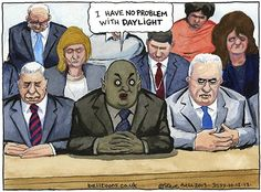 Steve Bell on Iain Duncan Smith's questioning by MPs – cartoon