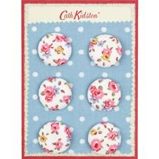 Cath Kidston has buttons.