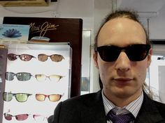 Come in store and have a look at our polarized sunglasses, they are amazing! Call 01743 344455 to book your eye test now.