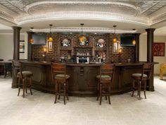 Bars For Basements traditional basement wet bar design ideas | home bar ideas