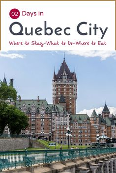 2 Days in Old Town Quebec City Guide | Ready for a weekend in Quebec? This post includes a two day itinerary of what to do in Old Town. Click through for recommendations!