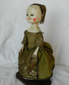 Queen Anne doll Olive from Old Wooden Sisters http://theoldwoodensisters.blogspot.com/ by Alena Sinel