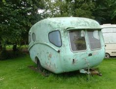 1957 Willerby.  I want to take this adorable trailer home with me and love it back to its shining glory!