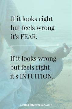 Trust yourself and intuition | Trust quotes | developing intuition | relationship problems | trusting yourself | Click to read more!